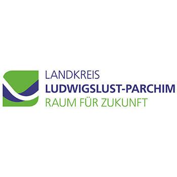 Logo Landkreis Ludwigslust-Parchim Raum für Zukunft