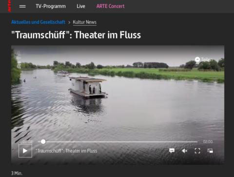 """arte – """"Traumschüff"""": Theater im Fluss (2 min)"""