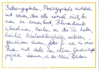 Post aus der Nähe Potsdams