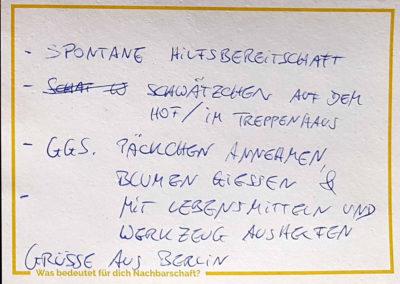 Post aus Berlin